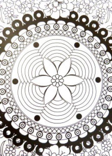 אומנות מרגיעה: מנדלה