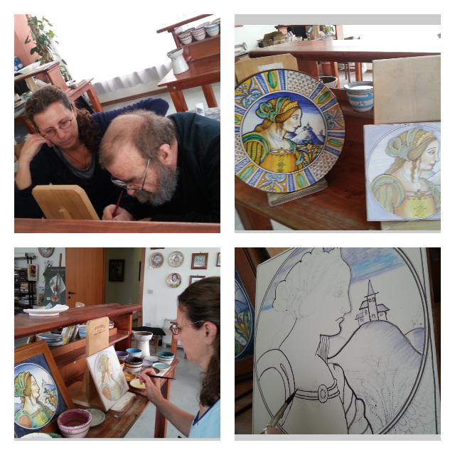 מהסטודיו  בתל אביב לדרוטה באיטליה | איריס עשת כהן
