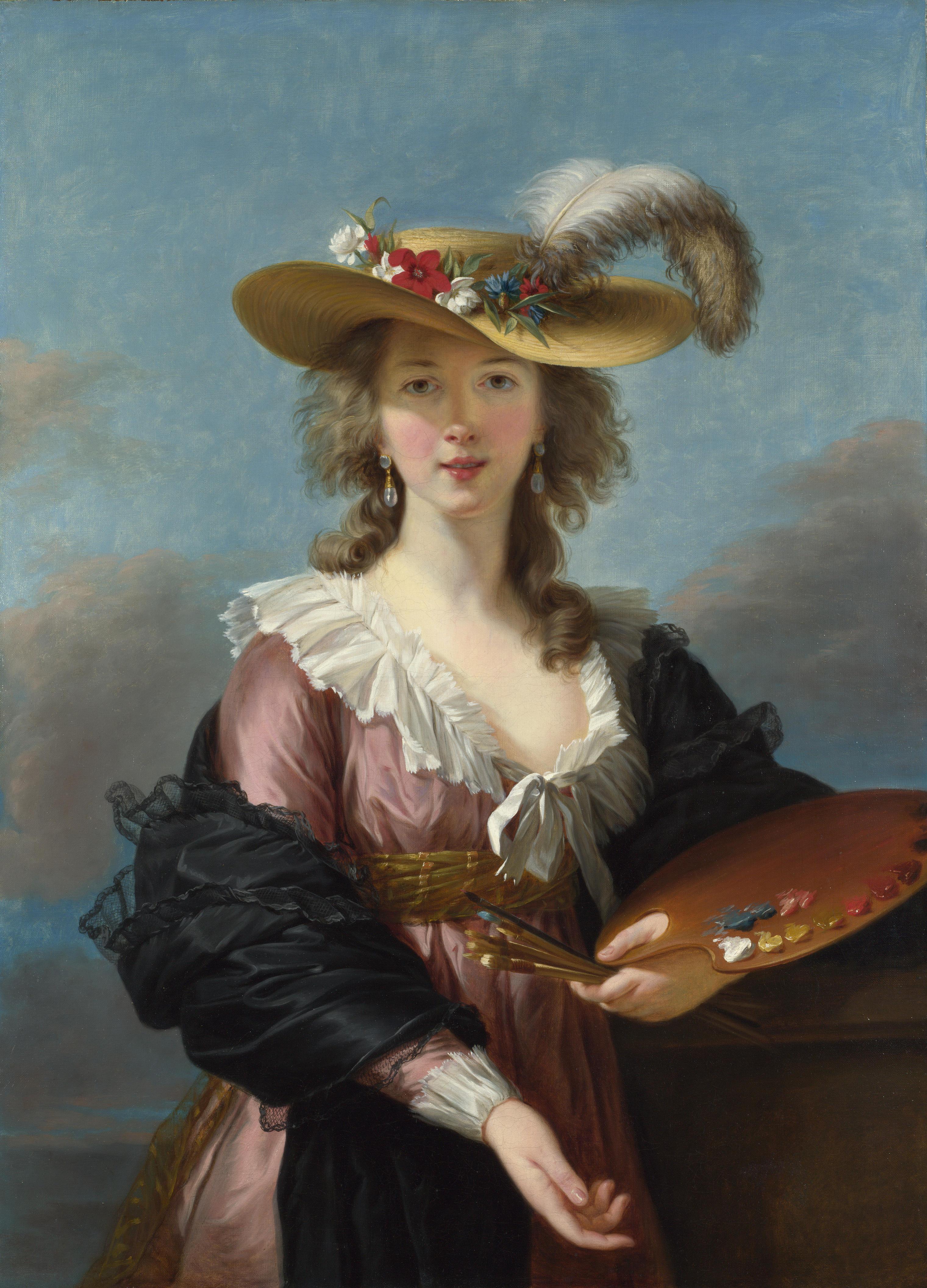 אליזבט ויז'ה-לה ברון -הציירת שכבשה את האמנות בזמן המהפכות