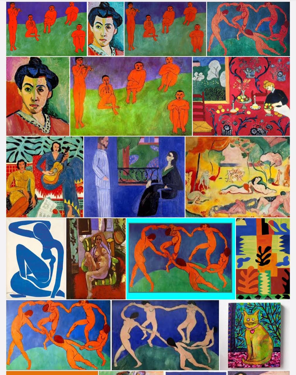 רשימות של צייר – אנרי מאטיס