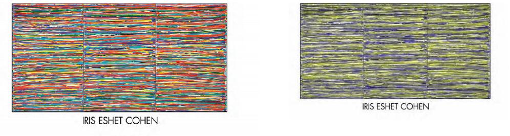 הציורים מבעד לעיניו של עיוור צבעים – עיוורון צבעים באומנות | מבחן עיוורון צבעים