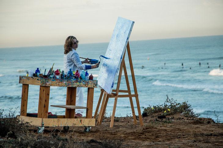 "Blue Gallery Exhibition – Iris Eshet Cohen "" Colors of Life"""