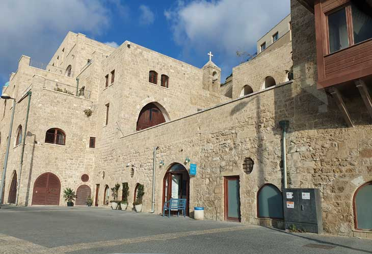 Art and history in Jaffa Port