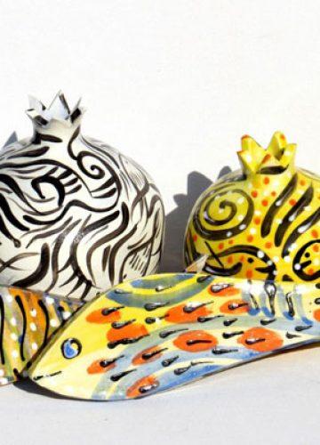 דגים ב- יודאיקה, אומנות יהודית ועד לפנג שווי