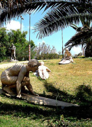 פסלי הגולשים בפלמחים